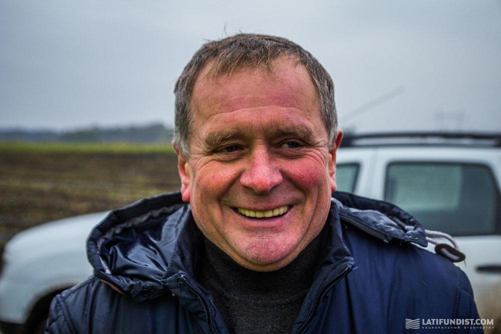 Валерий Линевич, глава правления сельскохозяйственного производственного кооператива «Овсяницкий»
